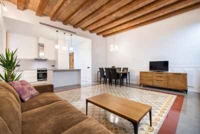 Просторная квартира в квартале Gotico в Барселоне